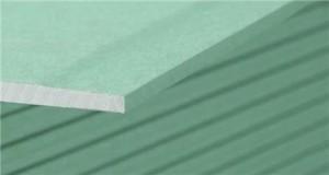 Plaque de plâtre BA13 hydrofuge